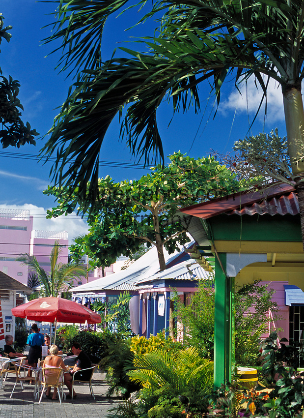 BRB, Barbados, St. Lawrence Gap: Chattel House - shopping village | BRB, Barbados, St. Lawrence Gap: Chattel House - shopping village