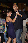 Walt Willey Dances with a fan at the Celebrity Bartending Bash on May 14 at Martini's Upstairs, Marco Island, Florida - SWFL Soapfest Charity Weekend May 14 & !5, 2011 benefitting several children's charities including the Eimerman Center providing educational & outreach services for children for autism. see www.autismspeaks.org. (Photo by Sue Coflin/Max Photos)
