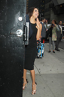 May 09 , 2012:  Eva Longoria arriving at Late Show with David Letterman in New York City. Credit: RW/MediaPunch Inc.