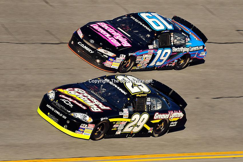 Feb 7, 2009; 4:46:45 PM; Daytona Beach, FL, USA; ARCA Remax Series Event 1 for the Lucas Oil Slick Mist 200 at Daytona International Speedway.  Mandatory Credit: (thesportswire.net)
