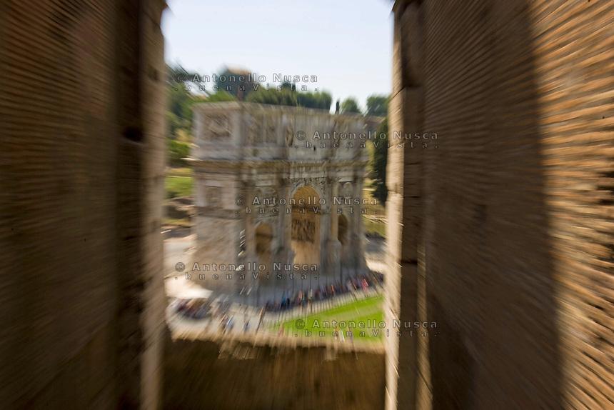 The Arch of Costantine. L'Arco di Costantino