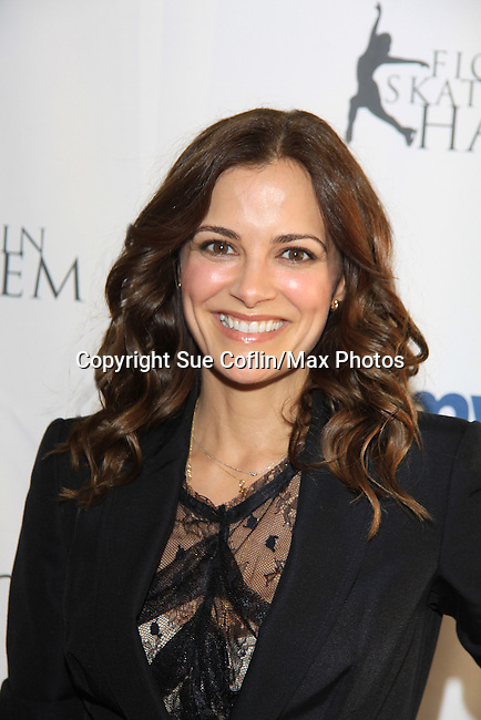 All My Children's Rebecca Budig - The 2013 Skating with the Stars- a benefit gala for Figure Skating in Harlem on April 8, 2013 at Trump Wollman Rink, New York City, New York. (Photo by Sue Coflin/Max Photos)