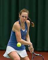 Wateringen, The Netherlands, March 16, 2018,  De Rhijenhof , NOJK 14/18 years, Nat. Junior Tennis Champ. Stephanie Visscher (NED)<br />  Photo: www.tennisimages.com/Henk Koster