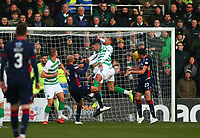 1st December 2019; Global Energy Stadium, Dingwall, Highland, Scotland; Scottish Premiership Football, Ross County versus Celtic; Ross Stewart of Ross County heads Ross County level in the 24th minute 1-1 - Editorial Use