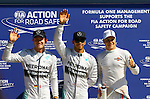 Nico Rosberg (GER), Mercedes GP - Lewis Hamilton (GBR), Mercedes GP - Valtteri Bottas (FIN), Williams F1 Team<br /> for the complete Middle East, Austria & Germany Media usage only!<br />  Foto © nph / Mathis
