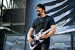 Rob Caggiano of Volbeat performs during the 2013 Rock On The Range festival at Columbus Crew Stadium in Columbus, Ohio.
