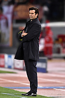 Santiago Solari, Real Madrid Coach <br />  during the Uefa Champions League 2018/2019 Group G football match between AS Roma and Real Madrid at Olimpico stadium Allianz Stadium, Rome, November, 27, 2018 <br />  Foto Antonietta Baldassarre / Insidefoto