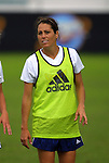 23 May 2003: Julie Foudy. The San Diego Spirit practiced at SAS Stadium in Cary, NC.