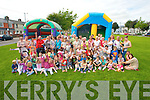 The crowd attending the Kevin Barry's Villas Annual Family Fun Day on Tuesday.