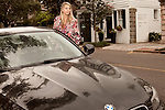 November 27, 2012. Charleston, South Carolina.. Alexa Wyatt gets into her BMW after a meeting with a bride.. Alexa Wyatt, 23, is an Event Coordinator with Southern Protocol, a boutique wedding and event planning company in Charleston, SC..