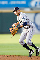 Cintron, Alex 3976.jpg.  PCL baseball featuring the Tacoma Rainers at Round Rock Express at Dell Diamond on August 5th 2009 in Round Rock, Texas. Photo by Andrew Woolley.