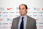 CARY, NC - FEBRUARY 28: North Carolina FC Director of Communications Marco Rosa. The United States Men's National Team held a press conference on February 28, 2018 at Sahlen's Stadium at WakeMed Soccer Park in Cary, NC to preview an international friendly they will be playing in the stadium on March 27th.