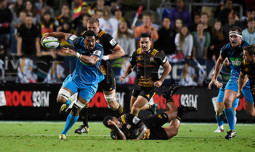 08.04.2016. Hamilton, New Zealand.  Jerome Kaino during the Blues versus Chiefs Super Rugby match at Waikato Stadium, Hamilton, New Zealand. Friday 8 April 2016.