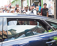 The Prince of Wales leaves  the Muslim Welfare House where he visited members of the community following the Finsbury Park terror attack. <br /> CAP/CAM<br /> &copy;Andre Camara/Capital Pictures /MediaPunch ***NORTH AND SOUTH AMERICAS ONLY***