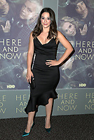 LOS ANGELES, CA - FEBRUARY 05: Stephanie Arcila at the Here And Now Los Angeles Premiere at the  DGA Lot on February 5, 2018 in Los Angeles, California. Credit: David Edwards/MediaPunch