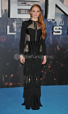 Sophie Turner at the &quot;X-Men : Apocalypse&quot; global fan screening, BFI Imax, Charlie Chaplin Walk, London, England, UK, on Monday 09 May 2016.<br /> CAP/CAN<br /> &copy;CAN/Capital Pictures /MediaPunch ***NORTH AND SOUTH AMERICA ONLY***