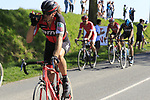Daniel Oss (ITA) BMC Racing Team takes a drink as he comes off pave sector 10 Merignies a Avelin during the 115th edition of the Paris-Roubaix 2017 race running 257km Compiegne to Roubaix, France. 9th April 2017.<br /> Picture: Eoin Clarke | Cyclefile<br /> <br /> <br /> All photos usage must carry mandatory copyright credit (&copy; Cyclefile | Eoin Clarke)