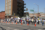 "PEACEFUL MARCH in the STREETS of DENVER in SUPPORT of HILLARY CLINTON""s HOPEFUL NOMINATION DURING the 2008 DEMOCRATIC CONVENTION"