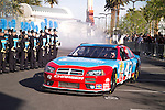 2015-02-25 County musics Rascal Flatts kicked off their Las Vegas residency today as 50 members of the Foothill High School Marching Band  performed at the Hard Rock Hotel &amp; Casino for the arrival.<br />
