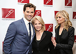 Andrew Rannells, Daryl Roth and Judith Light attends The New Dramatists' 68th Annual Spring Luncheon at the Marriott Marquis on May 16, 2017 in New York City.