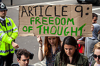 "30.05.2015 - ""The Great British Right Off! - Protest for the Human Rights Act"""