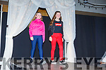 Models Yellivel D Marquez and Abresha Kastrati on the catwalk at the Adapt Fashion Show in Ballyroe Heights Hotel on Friday night.
