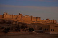 Sunrise at Jaipur Amber Fort Rajasthan, India