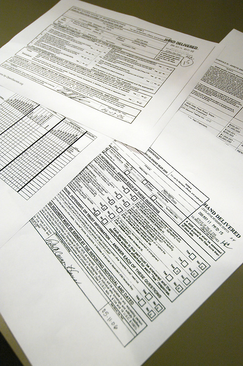 Personal Financial Disclosure Reports