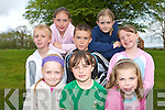 COMMUNITY GAMES: Taking part in the Rock Street/Caherslee community games at Mercy Mounthawk School on Friday front l-r: Rachel Bowler, Rachel Ryan and Meabh McElligott. Centre l-r: Eoin Lynch, Oisin Fitzgearld and Rebecca Ryan. Back l-r: Jenny Godley and Aoibhinn O'Brien.   Copyright Kerry's Eye 2008