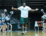"Tulane Men's and Women's Basketball teams are introduced to students and fans in ""Late Night at Fogelman"".  The Cheerleading Squad, Shockwave, New Orleans Honeybees and French Quarter Flyers performed for the crowd."