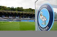 A general view of Adams Park, home of Wycombe Wanderers<br /> <br /> Photographer Andrew Vaughan/CameraSport<br /> <br /> The EFL Sky Bet League One - Wycombe Wanderers v Lincoln City - Saturday 7th September 2019 - Adams Park - Wycombe<br /> <br /> World Copyright © 2019 CameraSport. All rights reserved. 43 Linden Ave. Countesthorpe. Leicester. England. LE8 5PG - Tel: +44 (0) 116 277 4147 - admin@camerasport.com - www.camerasport.com