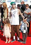 Travis Barker arrives at the 2010 BET Awards at the Shrine Auditorium in Los Angeles, California on June 27,2010                                                                               © 2010 Hollywood Press Agency