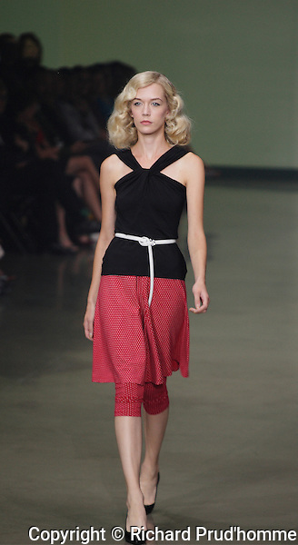 Muse by Christain Chenail Spring-Summer 2014 fashion show at Montreal Fashion Week.