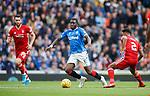 28.09.2018 Rangers v Aberdeen: Sheyi Ojo and Shay Logan