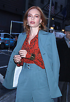 DEC 07 Kate Bosworth Seen In NY