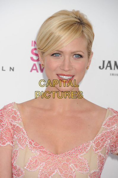 Brittany Snow.2013 Film Independent Spirit Awards - Arrivals Held At Santa Monica Beach, Santa Monica, California, USA,.23rd February 2013..indy indie indies indys portrait headshot beige red nude print patterned   .CAP/ROT/TM.©Tony Michaels/Roth Stock/Capital Pictures