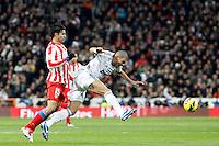 Pepe and Diego Costa during La Liga Match. December 01, 2012. (ALTERPHOTOS/Caro Marin)