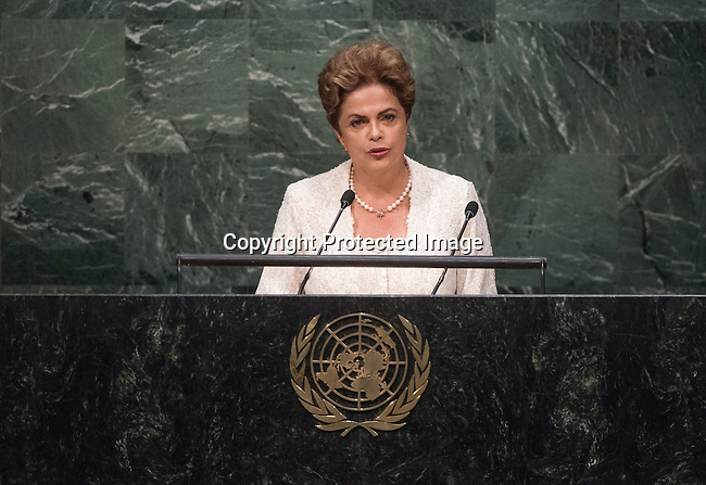 Address by Her Excellency Dilma Rousseff, President of the Federative Republic of Brazil
