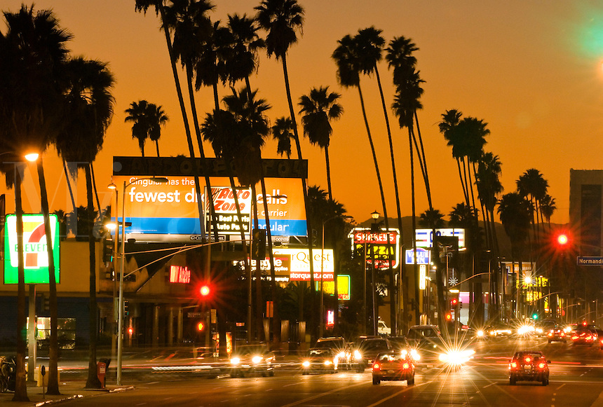 Sunset Blvd., Los Angeles, California