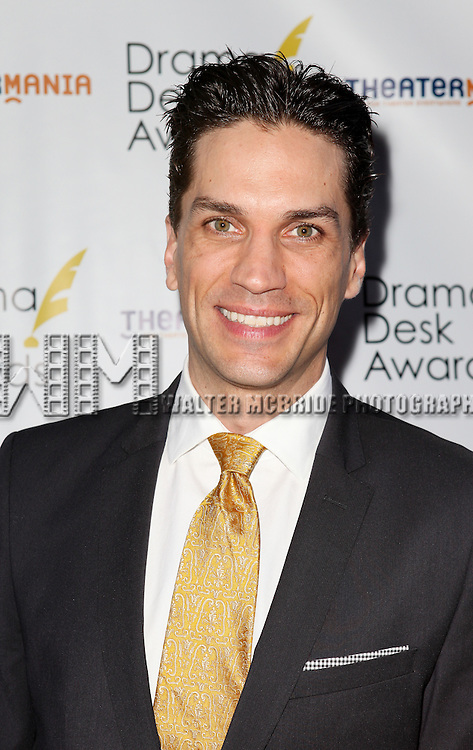 Will Swenson pictured at the 57th Annual Drama Desk Awards held at the The Town Hall in New York City, NY on June 3, 2012. © Walter McBride