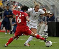 2003WWC USA/Korea DPR.Kristine Lilly v Mi Ae Ra(Korea DPR)