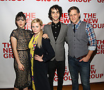 "Isabelle Fuhrman, Abigail Breslin, Alex Wolff, Joe Tippett attend the Opening Night of The New Group World Premiere of ""All The Fine Boys"" at the The Green Fig Urban Eatery on March 1, 2017 in New York City."