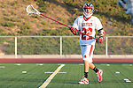Redondo Beach, CA 05/11/10 - Dean Dillenberg (PV # 22) in action during the 2010 Los Angeles Boys Lacrosse championship game, Mira Costa defeated Palos Verdes 12-10 at Redondo Union High School.