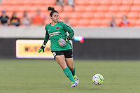 Houston, TX - Saturday July 16, 2016: Michelle Betos during a regular season National Women's Soccer League (NWSL) match between the Houston Dash and the Portland Thorns FC at BBVA Compass Stadium.