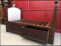 Perfect for short naps - Queen Victoria's tiny bed.