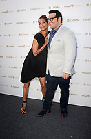 LOS ANGELES - July 13:  Halle Berry, Josh Gad at the Final Pitch Event from Chivas The Venture at the LADC Studios on July 13, 2017 in Los Angeles, CA