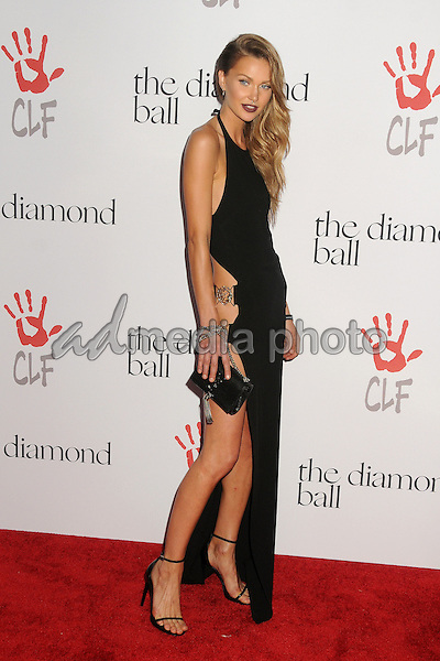 10 December 2015 - Santa Monica, California - Isabella Lindblom. 2nd Annual Diamond Ball held at Barker Hangar. Photo Credit: Byron Purvis/AdMedia