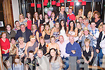 KEY TO THE DOOR: Claire Lee, Ashleigh Downs, Tralee (seated 5th left) enjoying a great time celebrating her 21st birthday with a large group of family and friends at the Manor West hotel, Tralee on Saturday.