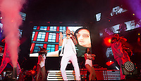 Maluma in concert at Barclays Center in Madrid. October 05, 2016. (ALTERPHOTOS/Rodrigo Jimenez) /NORTEPHOTO.COM