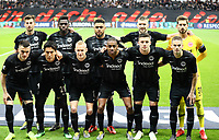 Mannschaft von Eintracht Frankfurt - 18.04.2019: Eintracht Frankfurt vs. Benfica Lissabon, UEFA Europa League, Viertelfinale, Commerzbank ArenaDISCLAIMER: DFL regulations prohibit any use of photographs as image sequences and/or quasi-video.